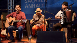 Marc Roca and friends beim MDR-Sommerfest