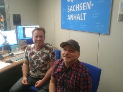 Marc Roca beim Radiointerview mit Martin Jones (MDR)